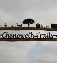 Chenoweth Trails Sign2
