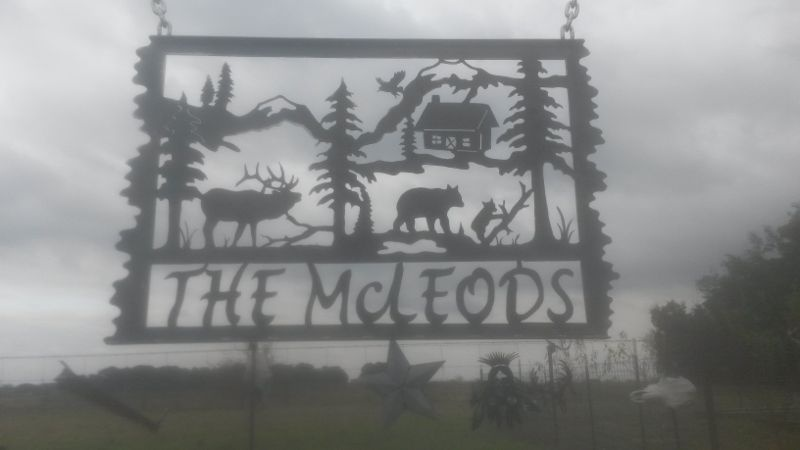 Custom Farm Metal Art Amp Ranch Signs In Texas Patterson